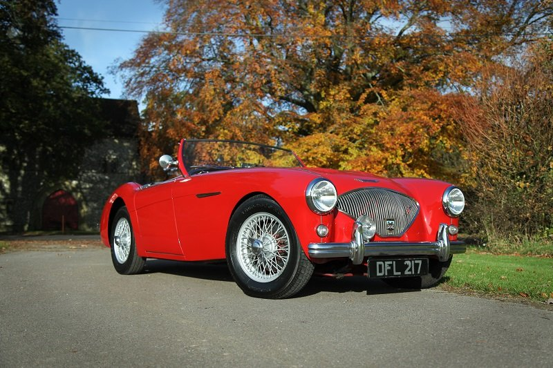 1954 Austin Healey 100 M Spec SOLD (picture 1 of 5)