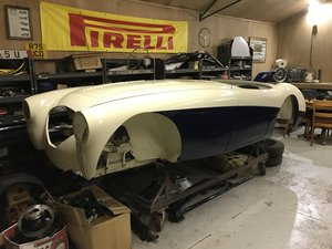 1956 AUSTIN HEALEY 100 BN2 (Original UK RHD, Restoration Project) For Sale