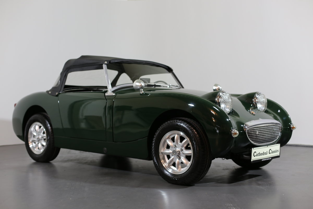 1958 Significant early Healey frogeye Sprite  matching numbers SOLD (picture 1 of 6)