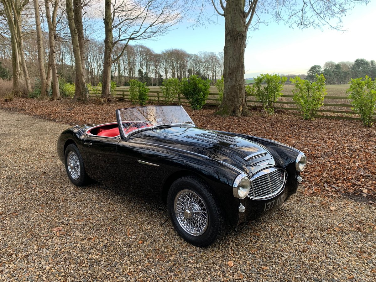 1958 Superior example Austin Healey 100/6 BN6 RARE 2 seater SOLD (picture 2 of 6)