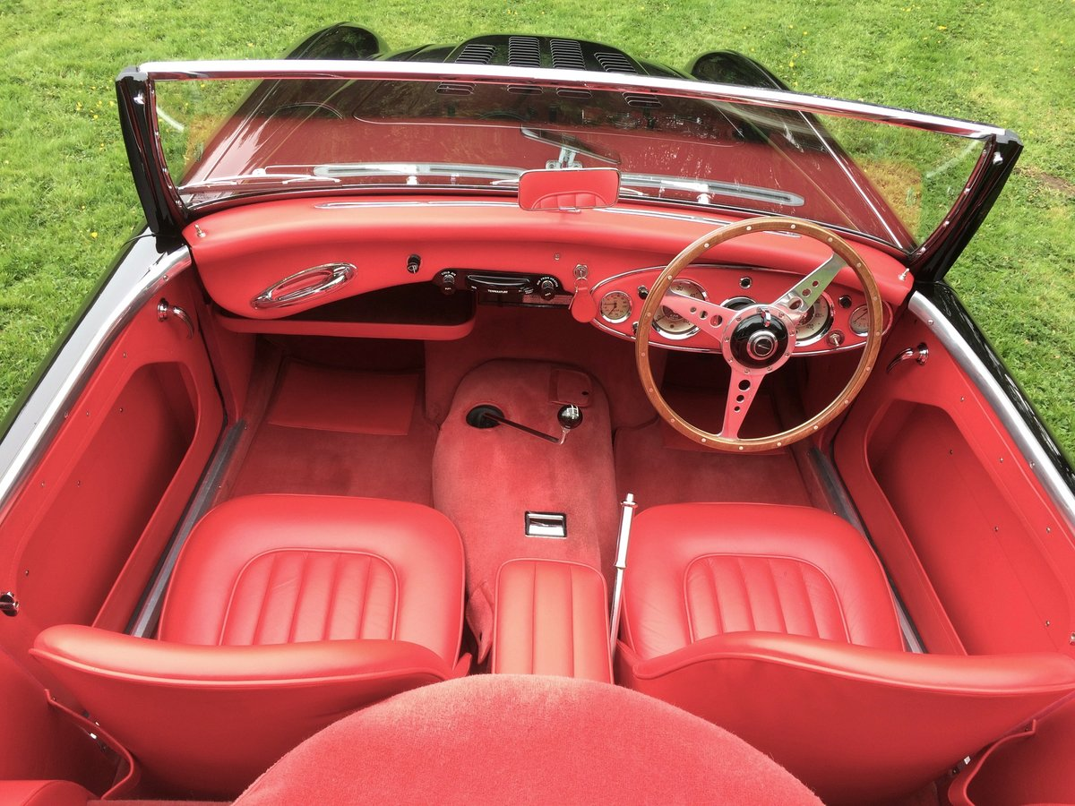 1958 Superior example Austin Healey 100/6 BN6 RARE 2 seater SOLD (picture 6 of 6)