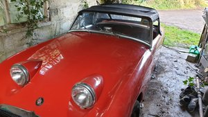 1959 Frog Eye Sprite Red  For Sale