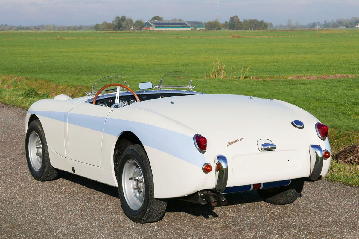 1959 Austin Healey Alexander Sprite 17 Jan 2020 For Sale by Auction (picture 3 of 6)