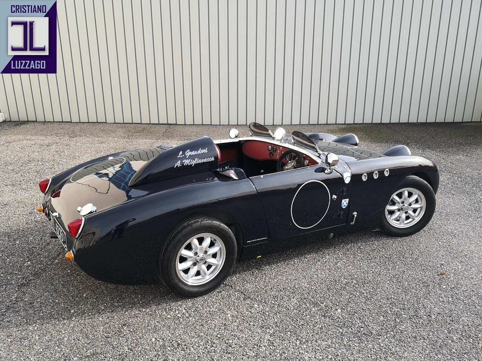 1959 AUSTIN HEALEY SPRITE EX FACTORY RALLY CAR For Sale (picture 2 of 6)