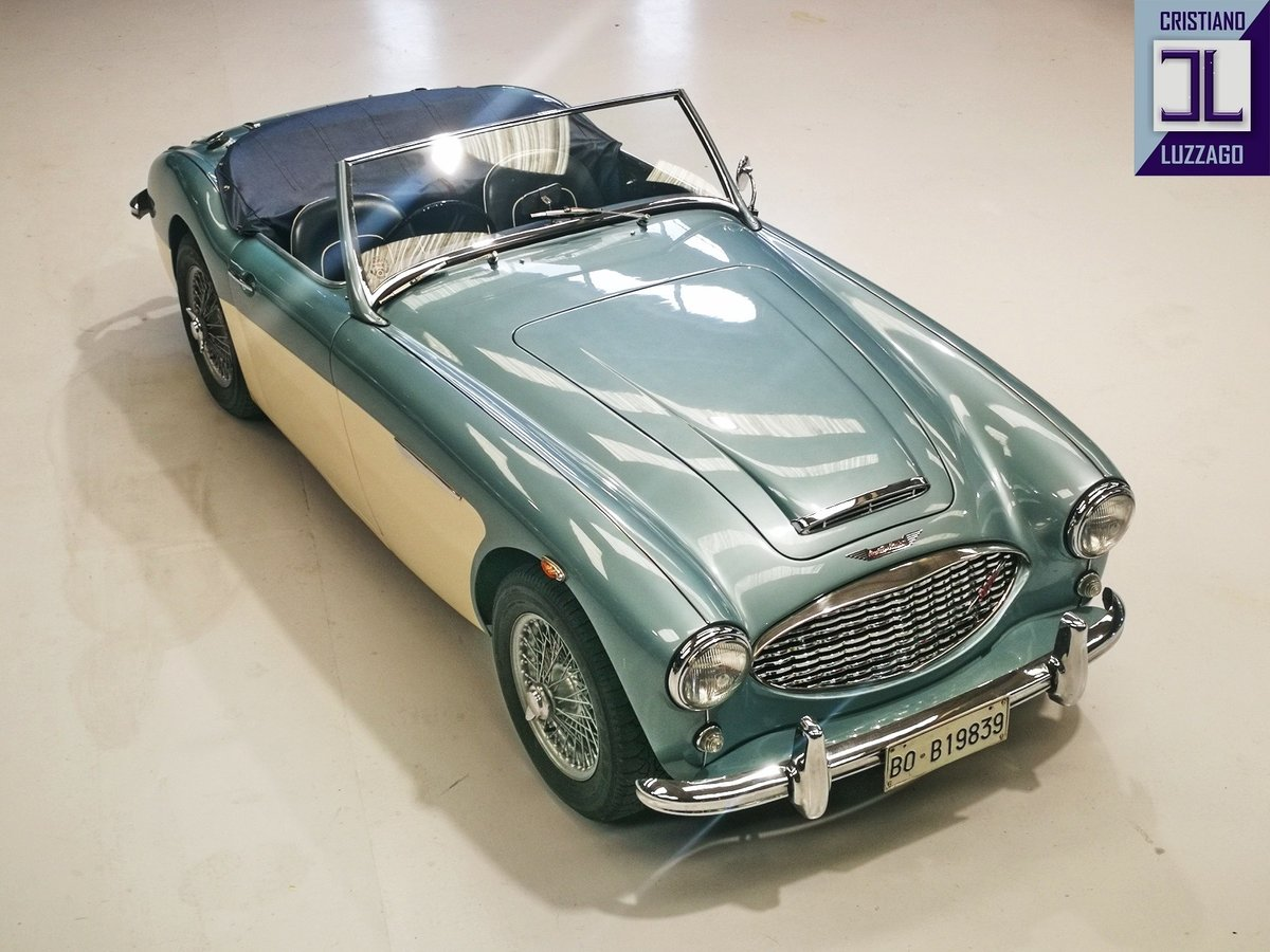 BEAUTIFUL 1961 AUSTIN HEALEY 3000 MK1 RHD For Sale (picture 3 of 6)
