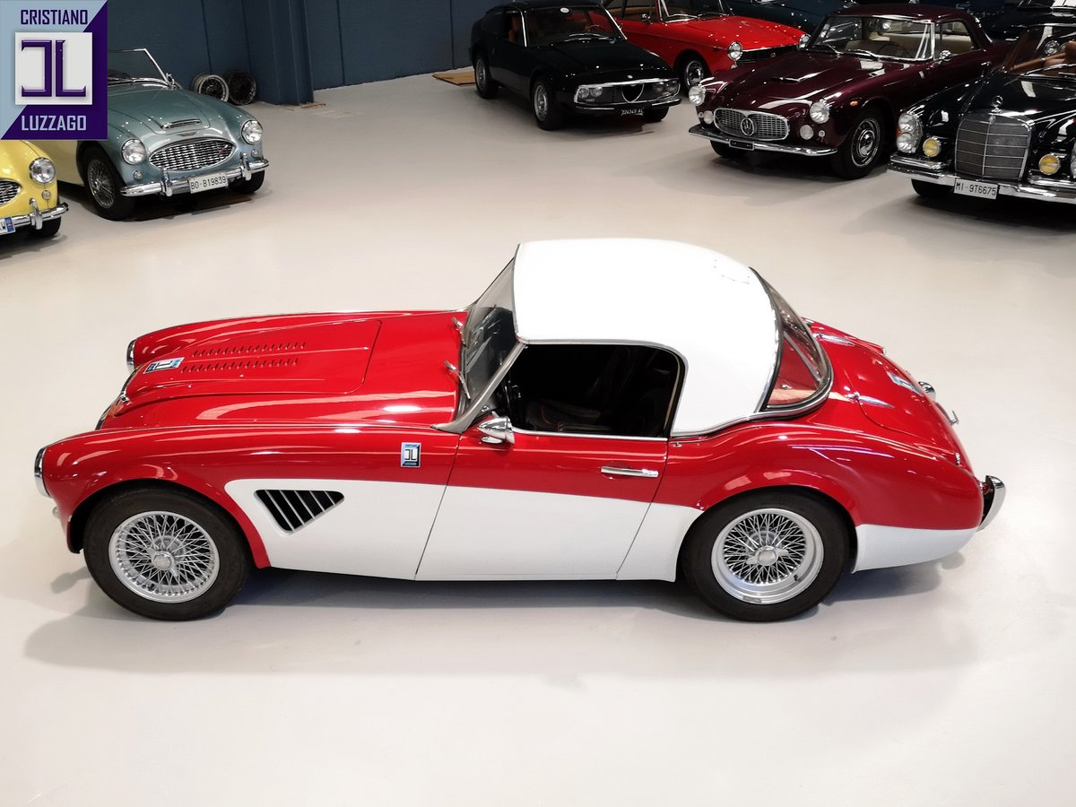 EXCEPTIONAL 1960 AUSTIN HEALEY 3000 BN7 with Rawles Motorspo For Sale (picture 3 of 6)