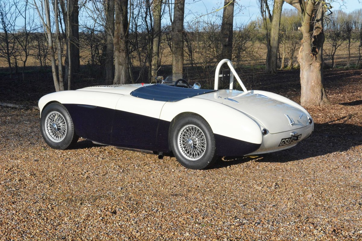 1954 Immaculate Healey 100 Race Car. Rebuilt With New Chassis. For Sale (picture 2 of 6)