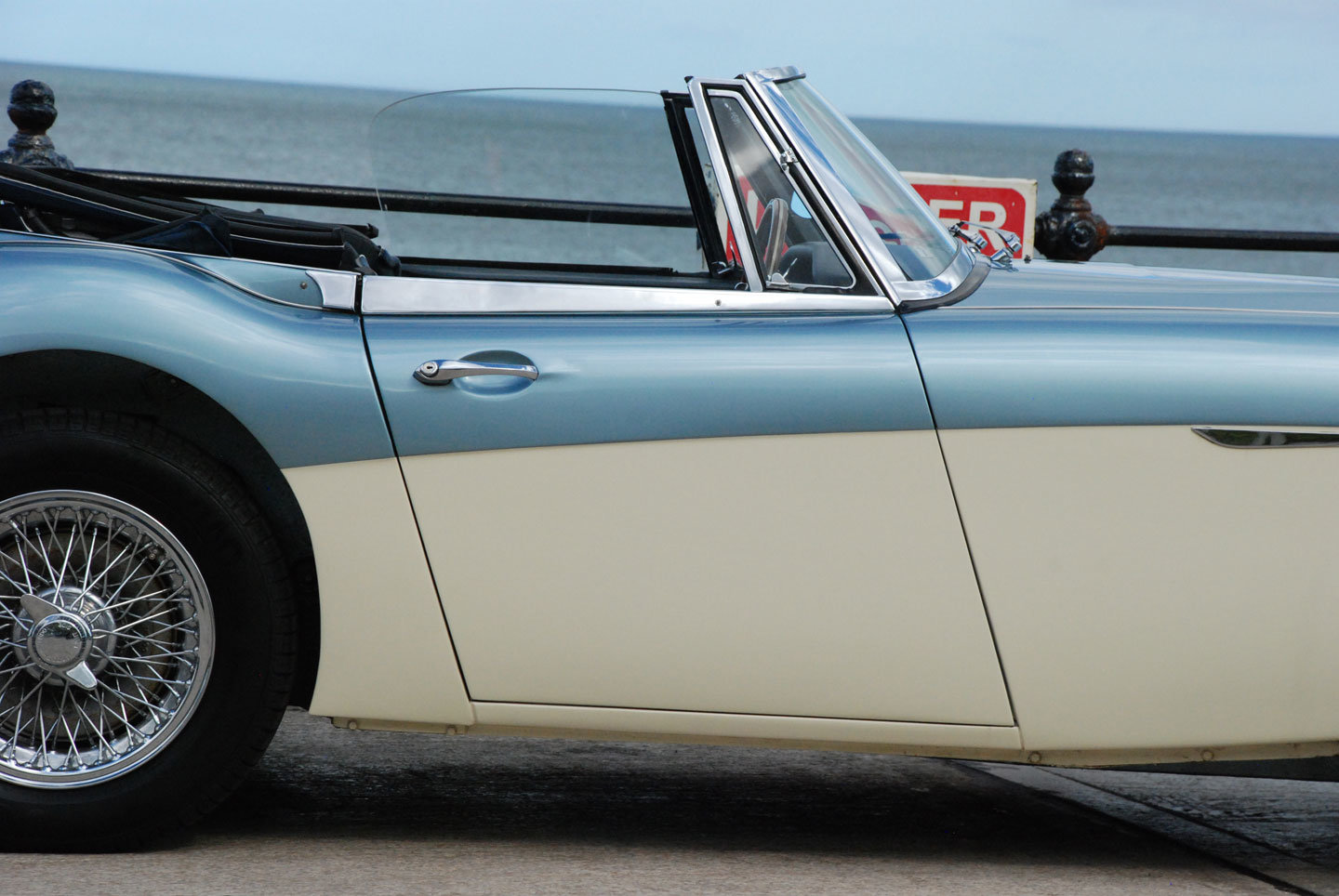 1966 Austin Healey 3000 MK 3 BJ8 phase 2 For Sale (picture 3 of 10)