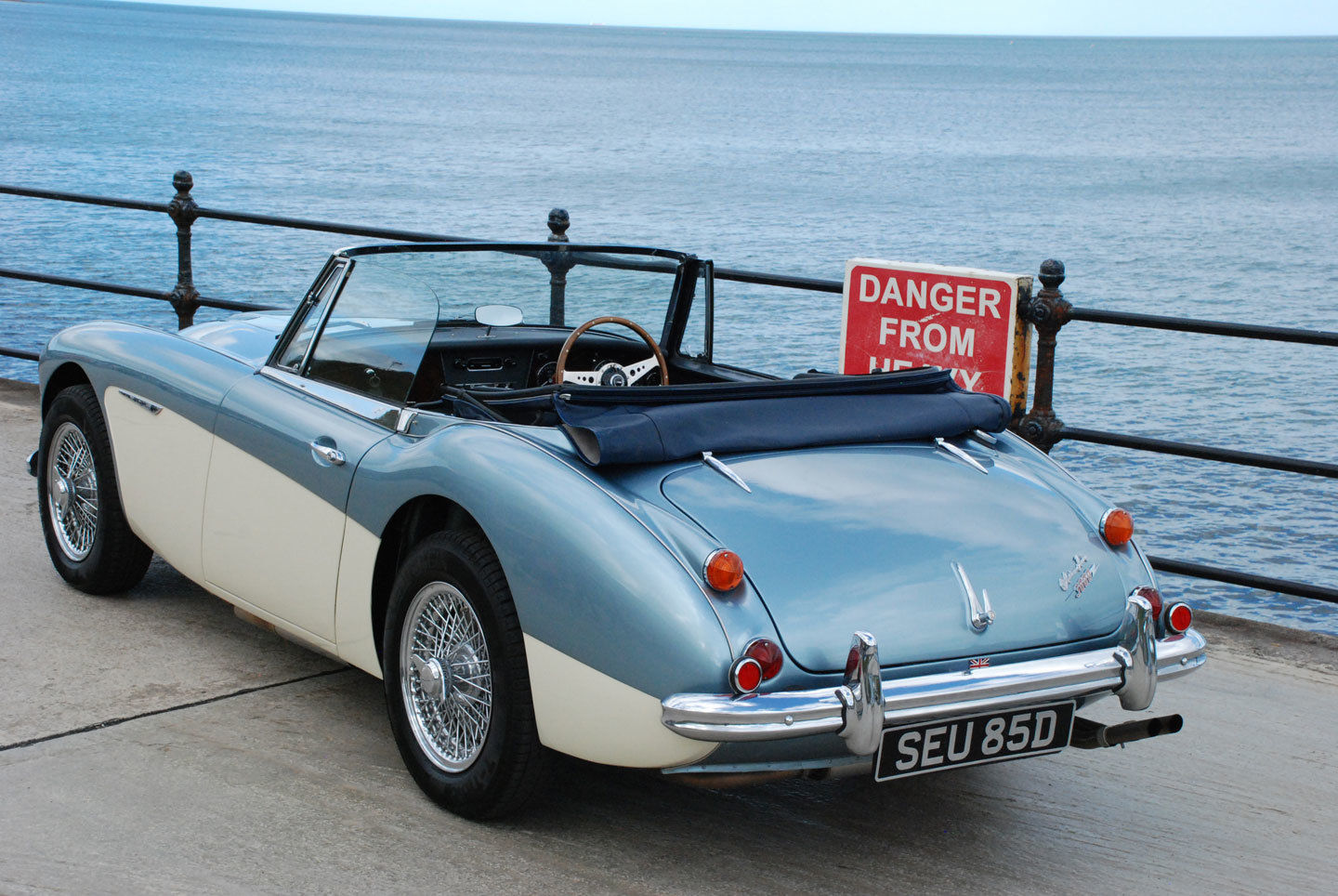 1966 Austin Healey 3000 MK 3 BJ8 phase 2 For Sale (picture 6 of 10)
