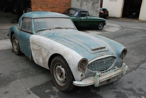 Austin Healey 3000 Mk 1 BT7. Rare original UK RHD Car