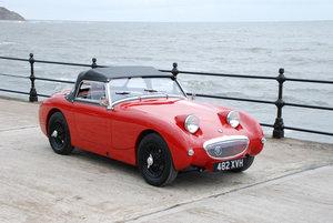 1960 Austin Healey Frogeye Sprite.