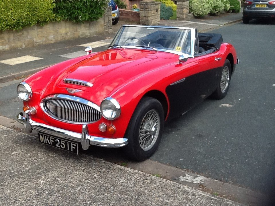1967 Austin Healey 3000 - Very Low Mileage For Sale (picture 1 of 6)