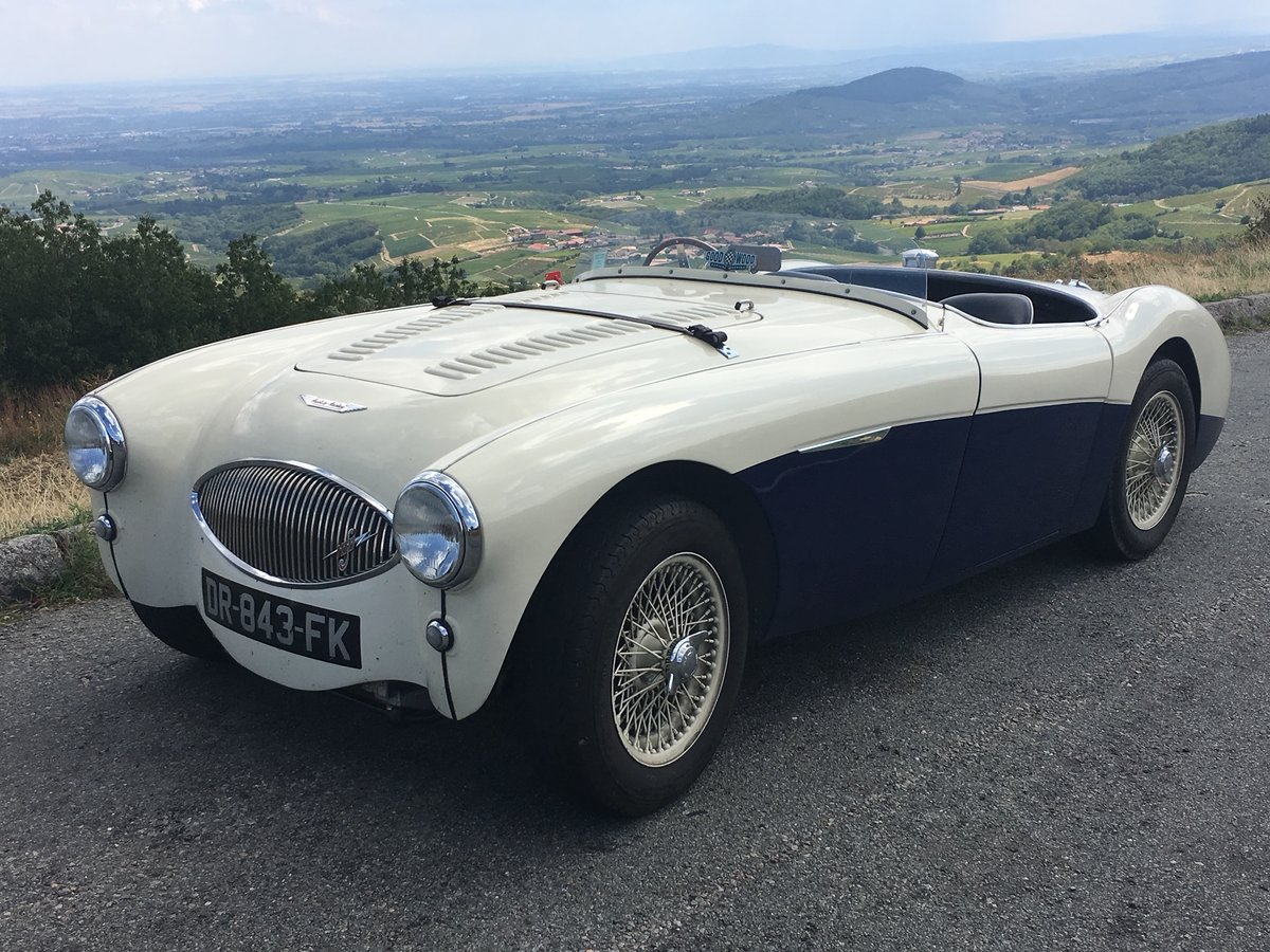 1955 Austin Healey 100S recreation, raced at Goodwood For Sale (picture 1 of 4)
