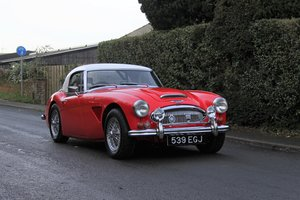 1962 Austin Healey 3000 MKIIA UK Race history, £45k spent in 2019