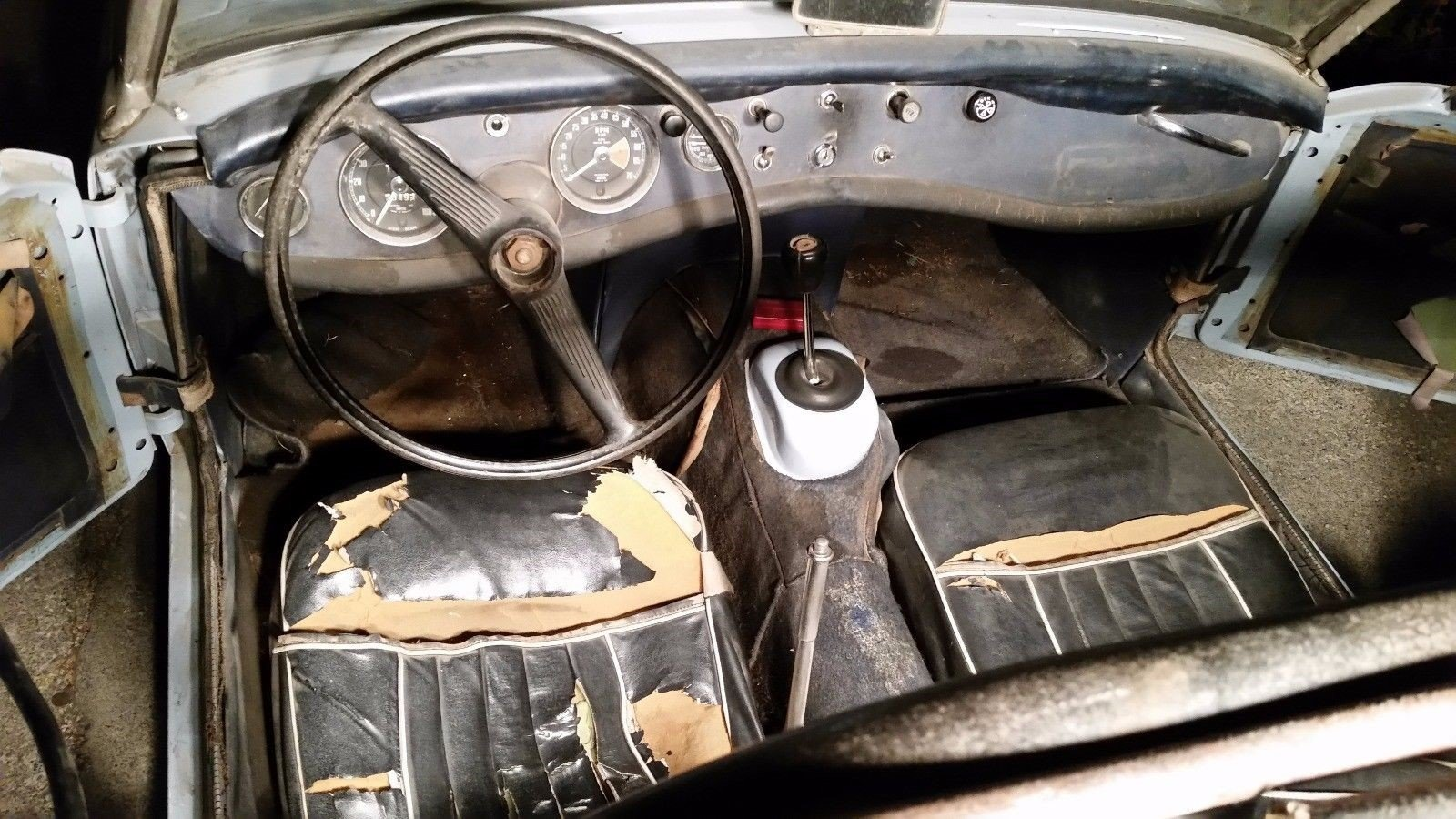 1964 LHD AH Sprite Mk 2 ( Mg Midget Mk 1) For Sale (picture 2 of 6)