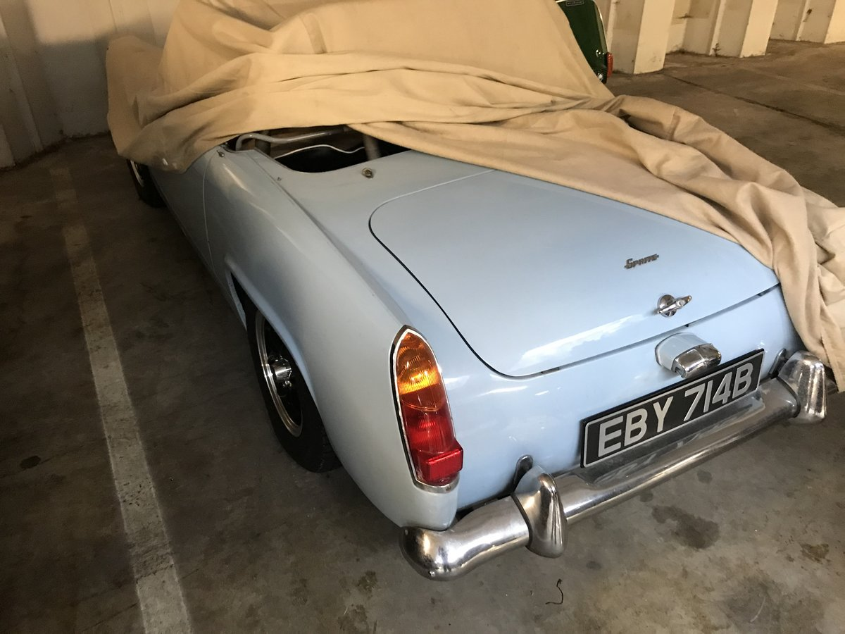 1964 LHD AH Sprite Mk 2 ( Mg Midget Mk 1) For Sale (picture 5 of 6)