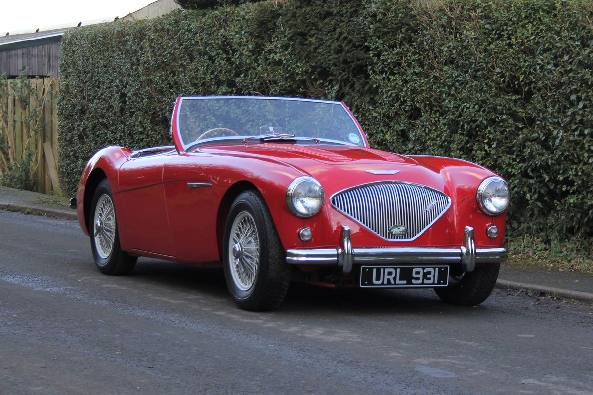 1955 Austin Healey 100-4 BN1 - Matching No's Beautifully Restored For Sale (picture 1 of 21)