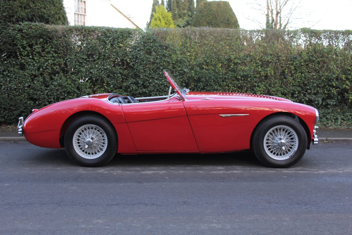 1955 Austin Healey 100-4 BN1 - Matching No's Beautifully Restored For Sale (picture 7 of 21)