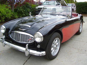 1960 Healey BT7 - a full complete restoration on a US car!