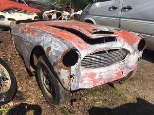 1957 Austin Healey 100/6 parts car For Restoration US Import