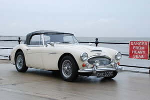 Austin Healey 3000 MK 3 BJ8 phase 2. Superb unrestored car.