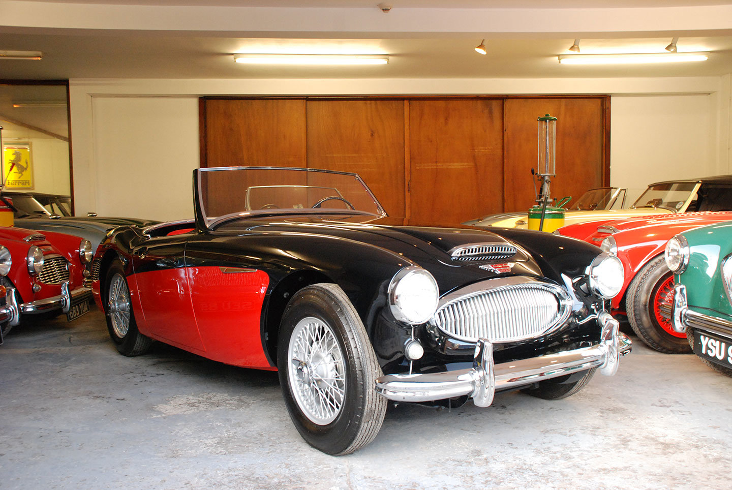 1961 Austin Healey 3000 Mk 2 BN7 2 seater tri carb For Sale (picture 1 of 10)