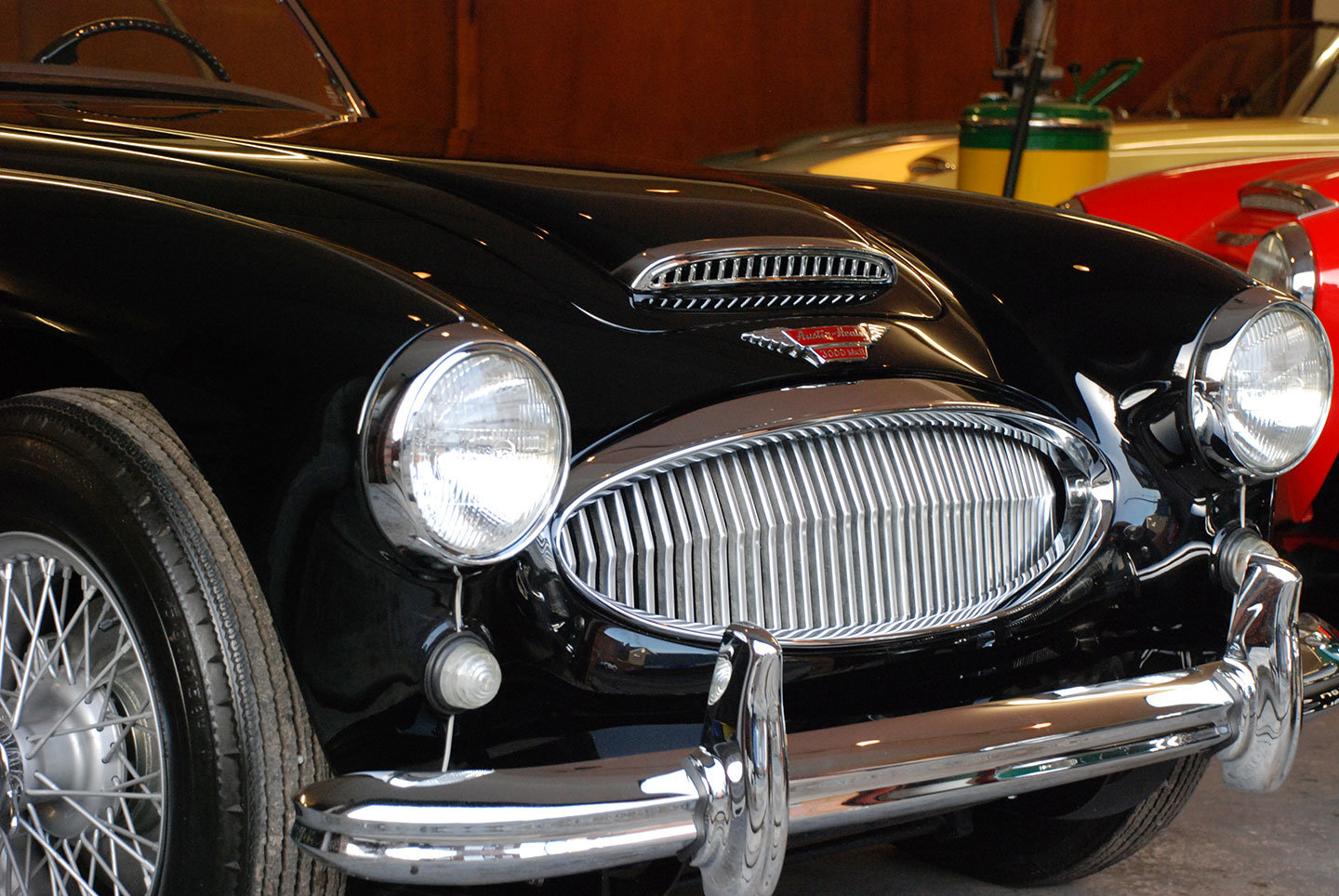 1961 Austin Healey 3000 Mk 2 BN7 2 seater tri carb For Sale (picture 2 of 10)