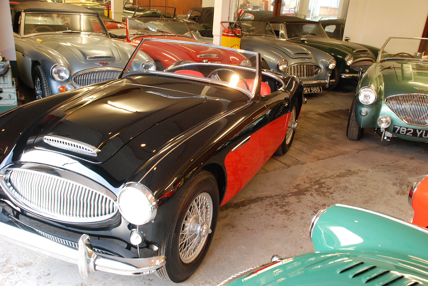 1961 Austin Healey 3000 Mk 2 BN7 2 seater tri carb For Sale (picture 4 of 10)