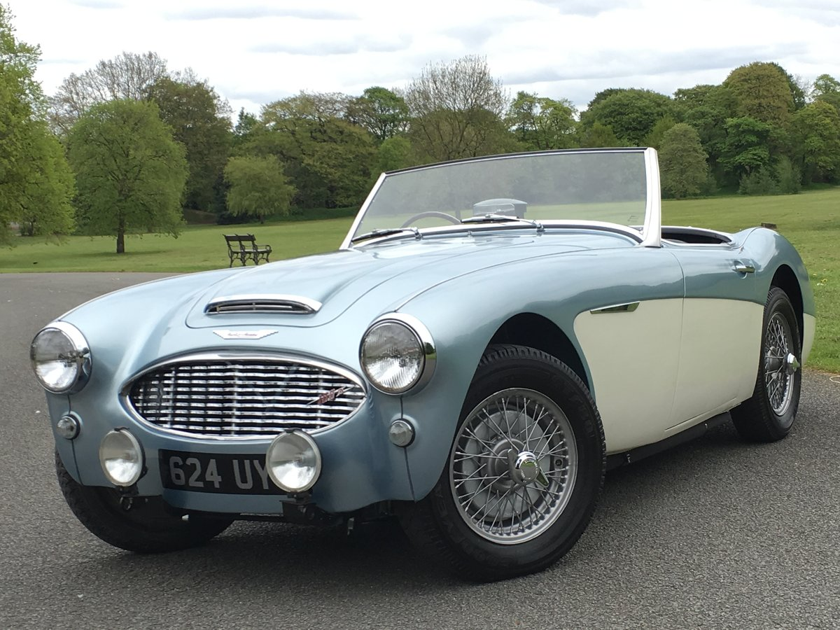 1958 AUSTIN HEALEY 100/6 2 SEAT BN6 RHD SUPERB For Sale (picture 1 of 6)