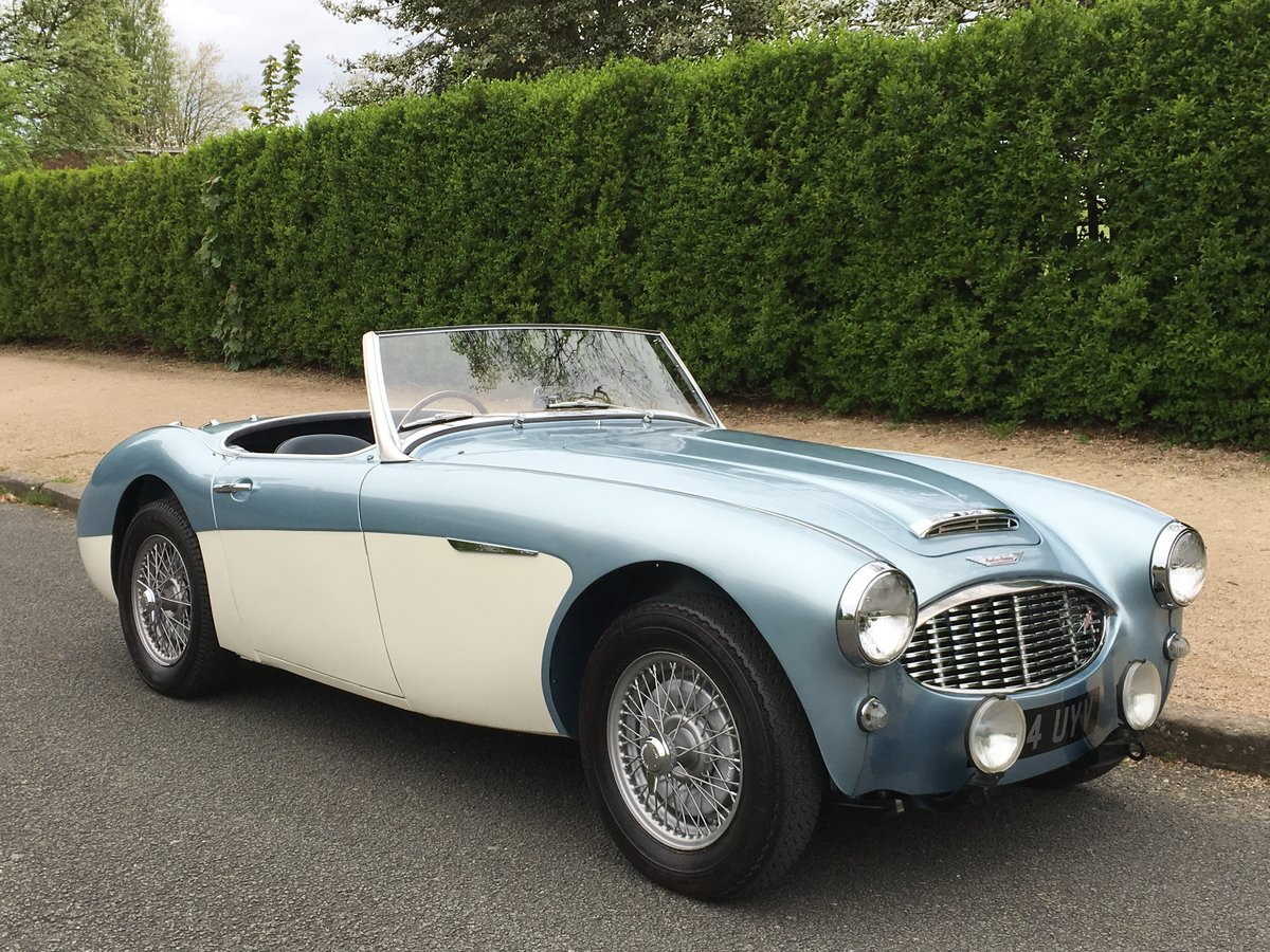 1958 AUSTIN HEALEY 100/6 2 SEAT BN6 RHD SUPERB For Sale (picture 2 of 6)