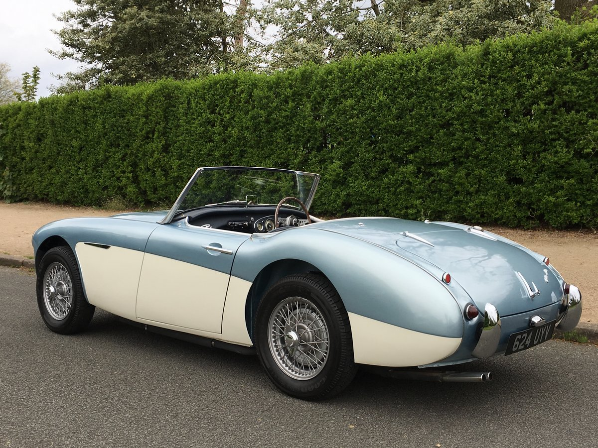 1958 AUSTIN HEALEY 100/6 2 SEAT BN6 RHD SUPERB For Sale (picture 3 of 6)