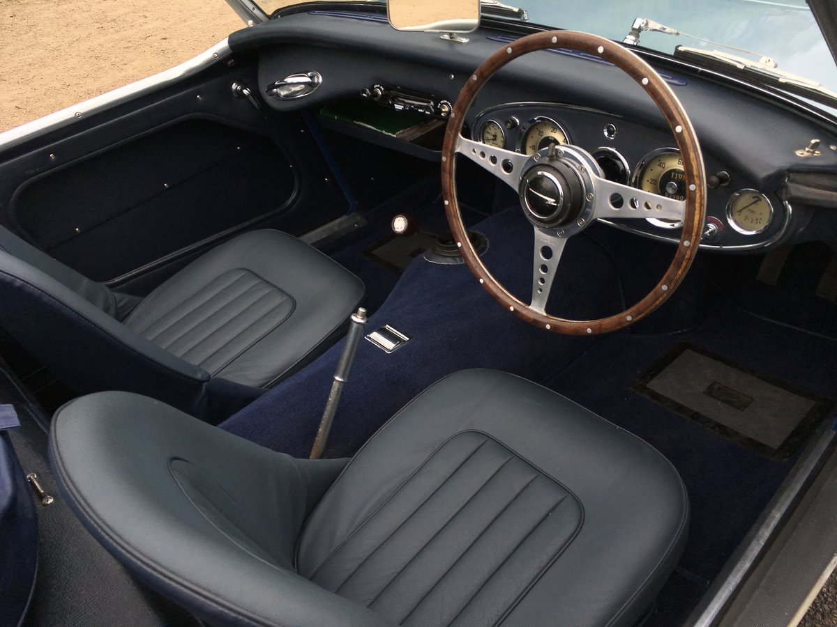 1958 AUSTIN HEALEY 100/6 2 SEAT BN6 RHD SUPERB For Sale (picture 5 of 6)