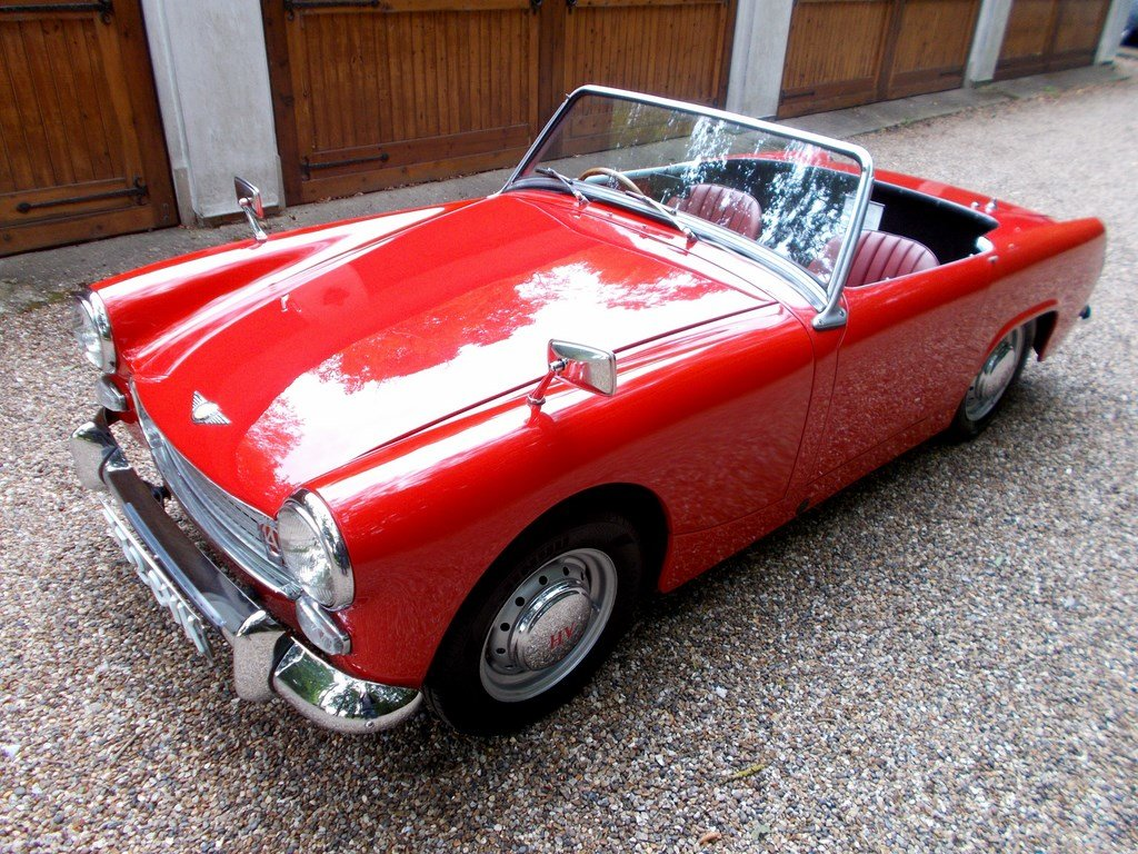 1961 Austin Healey Sprite Mk2 De Luxe, One Owner 31 years  SOLD (picture 2 of 6)