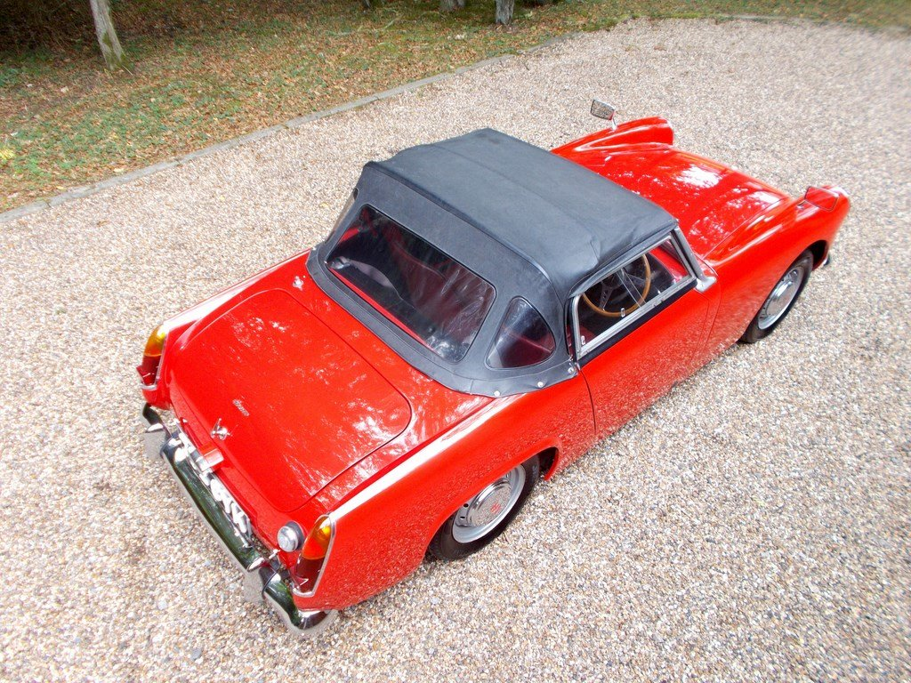1961 Austin Healey Sprite Mk2 De Luxe, One Owner 31 years  SOLD (picture 3 of 6)