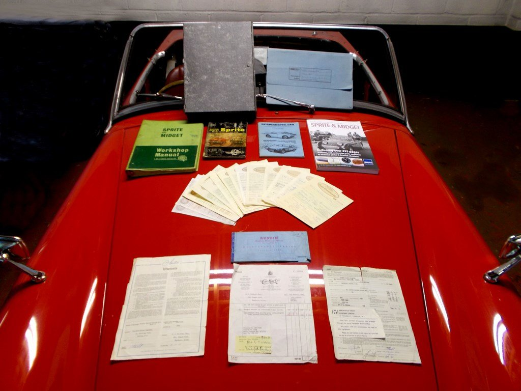 1961 Austin Healey Sprite Mk2 De Luxe, One Owner 31 years  SOLD (picture 6 of 6)