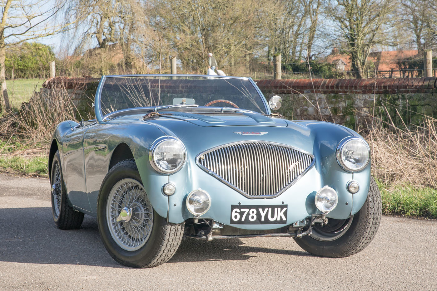 1955 Austin Healey 100/4 BN2 | Healey Blue, M Specification SOLD (picture 1 of 6)
