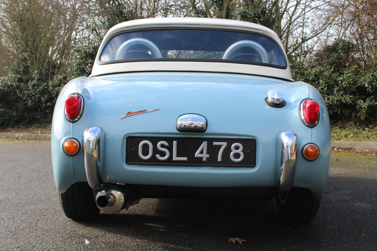 1959 AUSTIN HEALEY FROGEYE SPRITE - 1380cc !! For Sale (picture 3 of 6)
