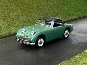 1961 Austin Healey Frog Eye Sprite Leaf Green