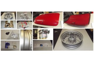 1964 austin healey parts and memorabilia for sale For Sale
