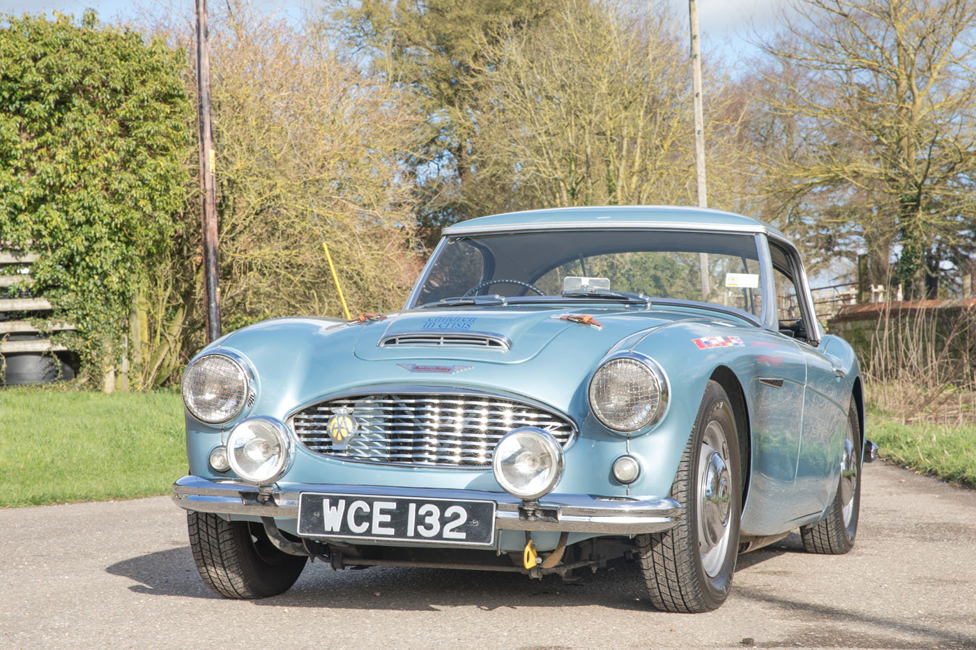 1959 The Cadburys London to Moscow & Bejiing Austin Healey 3000  For Sale (picture 2 of 6)