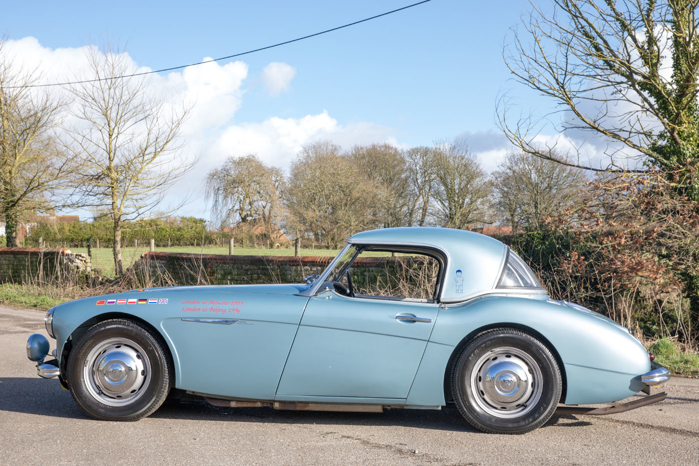 1959 The Cadburys London to Moscow & Bejiing Austin Healey 3000  For Sale (picture 3 of 6)