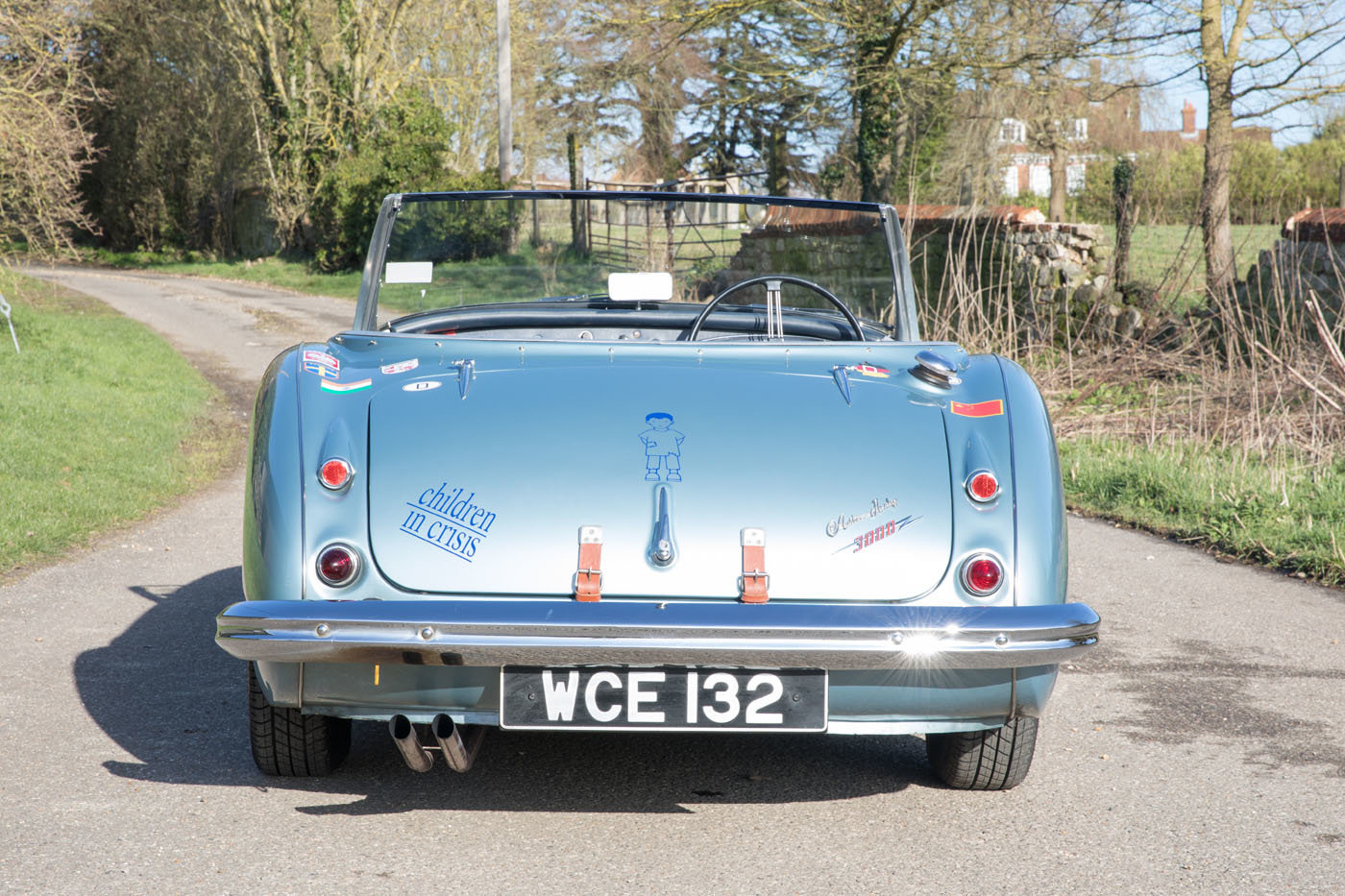 1959 The Cadburys London to Moscow & Bejiing Austin Healey 3000  For Sale (picture 4 of 6)