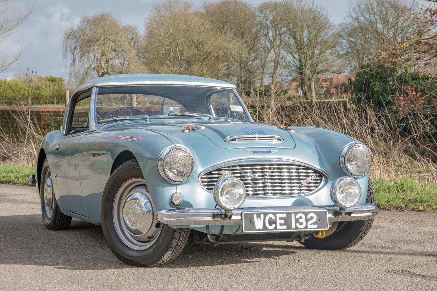 1959 The Cadburys London to Moscow & Bejiing Austin Healey 3000  For Sale (picture 1 of 6)