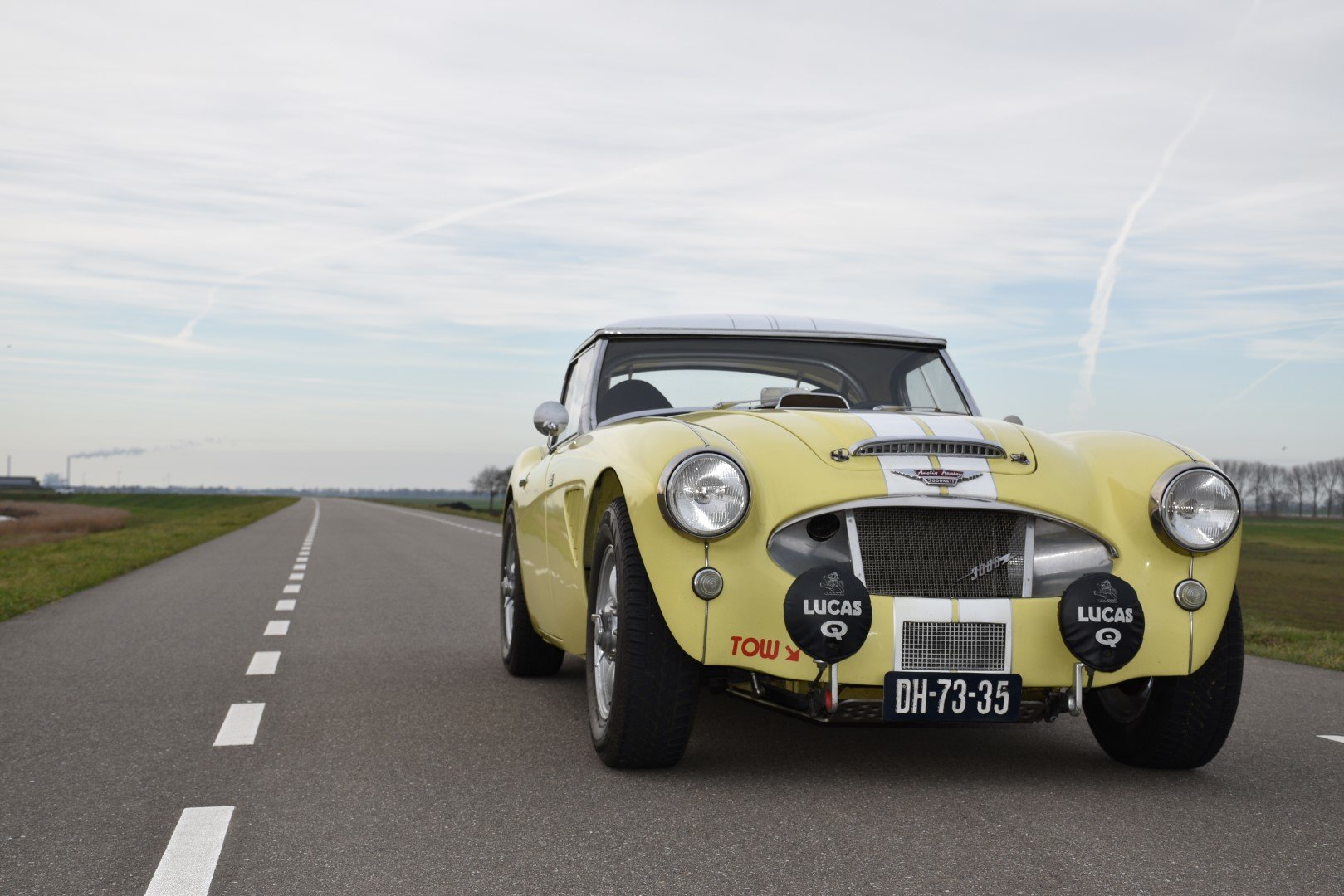 1962 Austin Healey 3000 MKII Two seater (BN7) For Sale (picture 2 of 6)