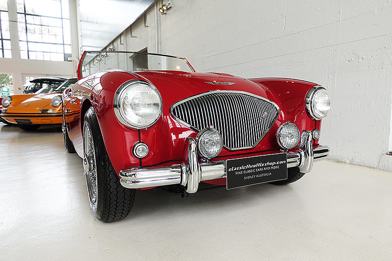 """1955 Very rare, early """"Big Healey"""" BN1, Australian delivered For Sale (picture 1 of 6)"""