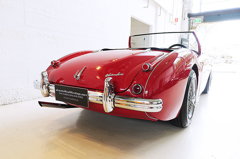 """1955 Very rare, early """"Big Healey"""" BN1, Australian delivered For Sale (picture 2 of 6)"""