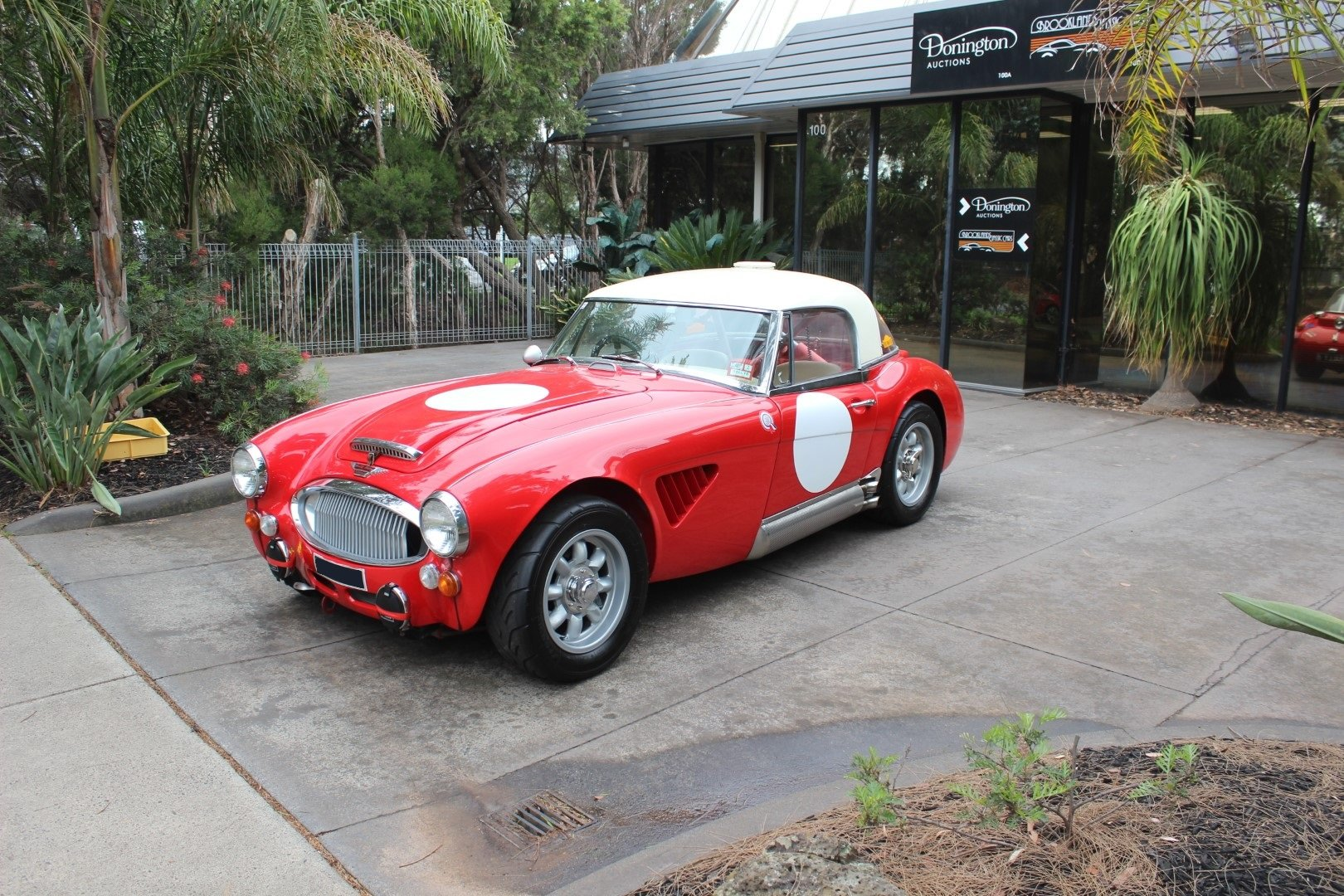 """Austin Healey BJ8 3000 MK3  """" Rally """" 1965 For Sale (picture 2 of 6)"""