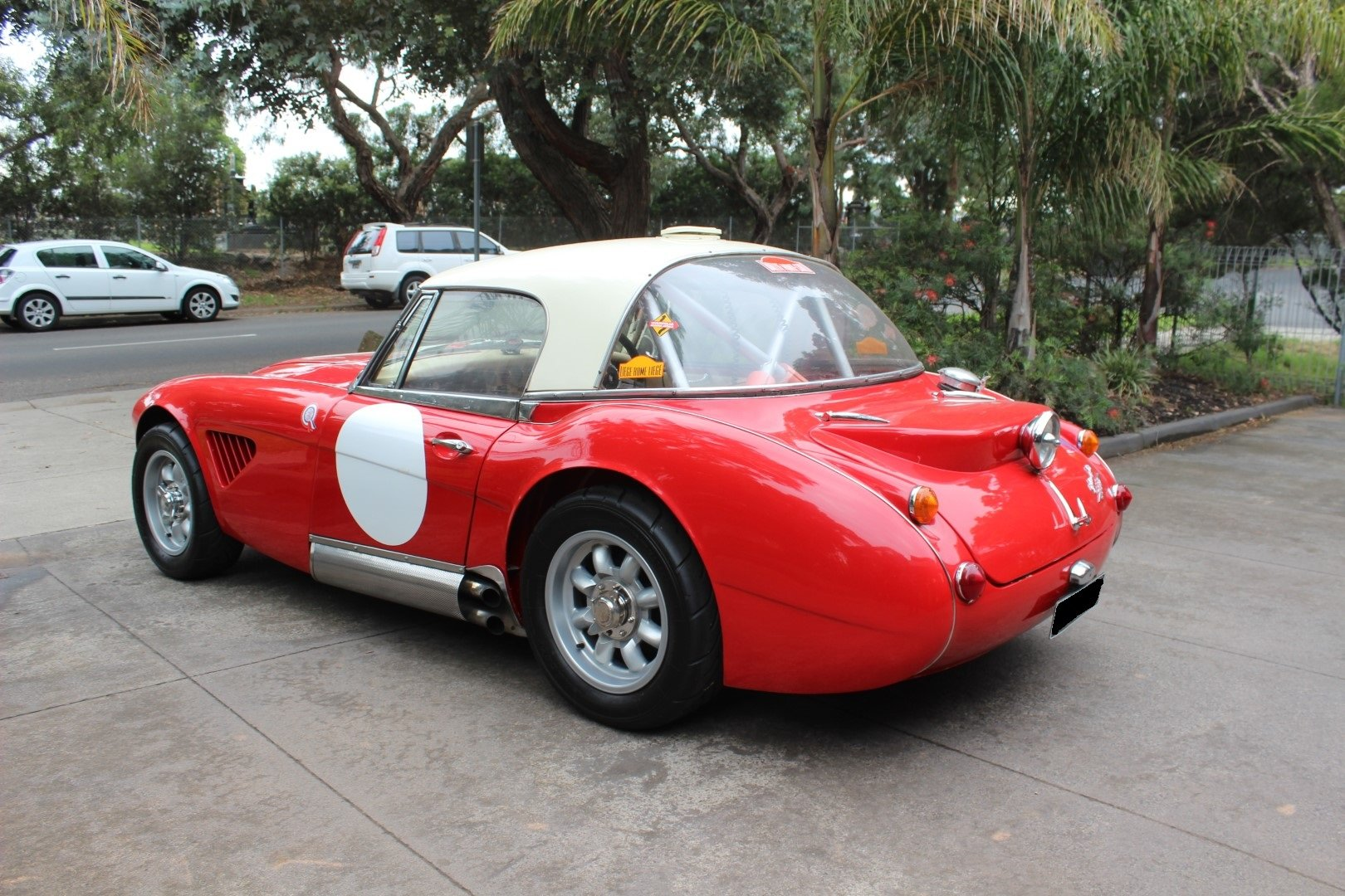 """Austin Healey BJ8 3000 MK3  """" Rally """" 1965 For Sale (picture 3 of 6)"""