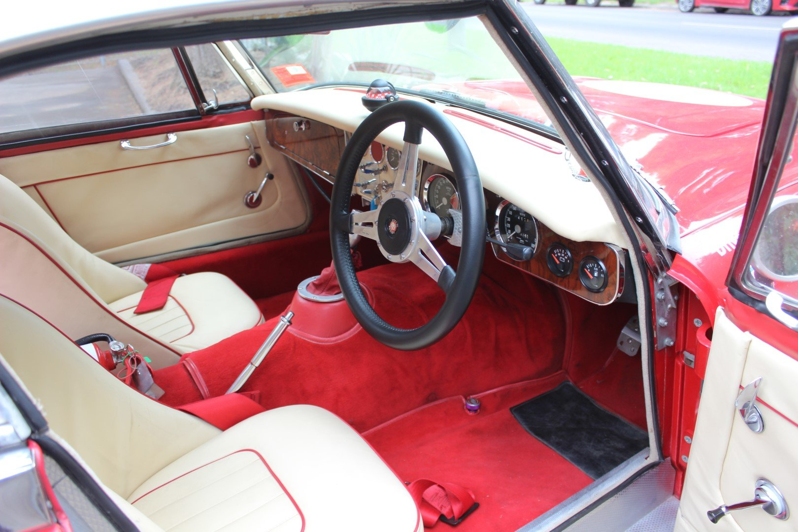 """Austin Healey BJ8 3000 MK3  """" Rally """" 1965 For Sale (picture 5 of 6)"""
