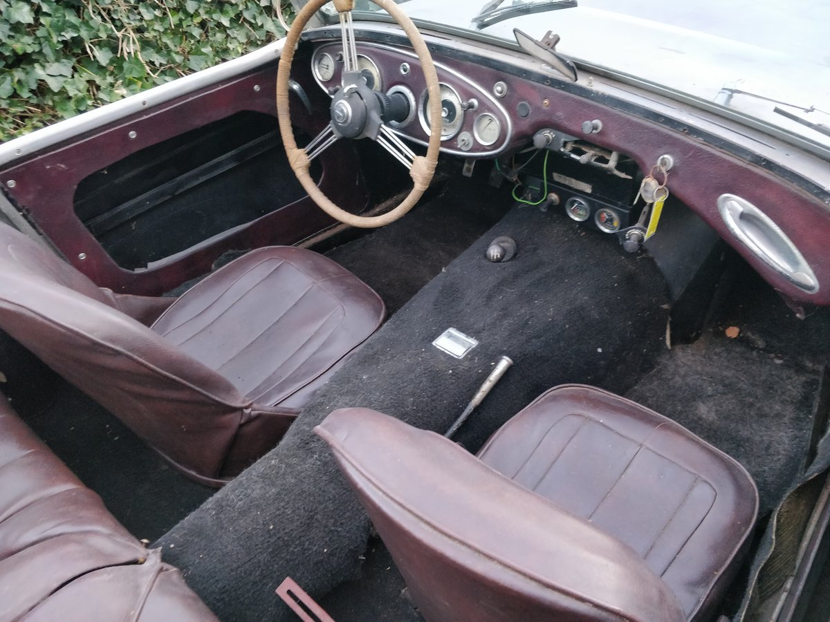1962 Austin Healey  MKII '62 lhd  for restauration For Sale (picture 4 of 6)